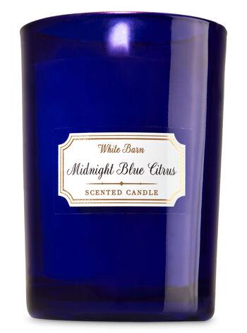 White Barn Midnight Blue Citrus Medium Candle - Bath And Body Works