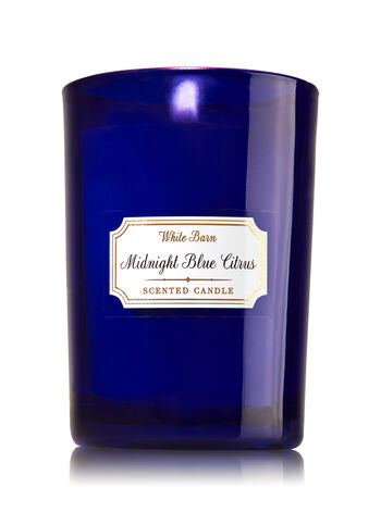 Midnight Blue Citrus Medium Candle - Bath And Body Works