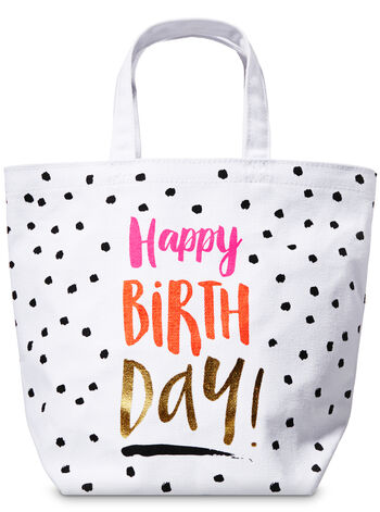 Happy Birthday Gift Bag - Bath And Body Works