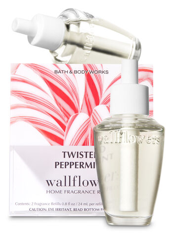 Twisted Peppermint Wallflowers 2-Pack Refills - Bath And Body Works