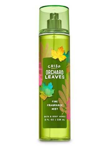 Crisp Orchard Leaves Fine Fragrance Mist - Bath And Body Works