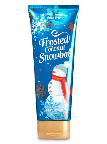 Signature Collection Frosted Coconut Snowball Body Cream - Bath And Body Works
