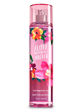 Signature Collection Aloha Waterfall Orchid Fine Fragrance Mist - Bath And Body Works