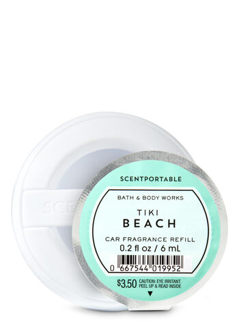 Tiki Beach Scentportable Fragrance Refill - Bath And Body Works
