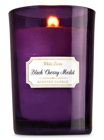 Black Cherry Merlot Medium Candle - Bath And Body Works