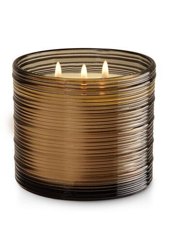 Black Pepper Bergamot 3-Wick Candle - Bath And Body Works