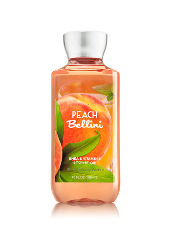 Signature Collection Peach Bellini Shower Gel - Bath And Body Works