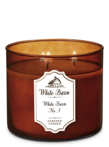 White Barn White Barn No. 1 3-Wick Candle - Bath And Body Works