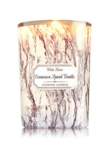 Cinnamon Spiced Vanilla Medium Candle - Bath And Body Works
