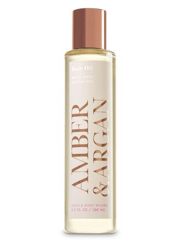 Amber & Argan Body Oil - Bath And Body Works