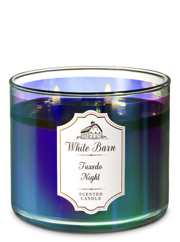 Tuxedo Night 3-Wick Candle - Bath And Body Works