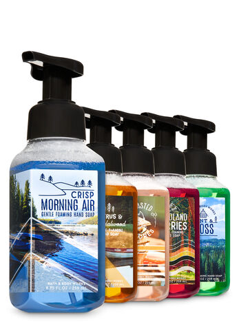 Happy Camper Gentle Foaming Hand Soap, 5-Pack - Bath And Body Works