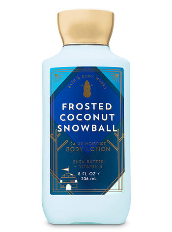 Signature Collection Frosted Coconut Snowball Super Smooth Body Lotion - Bath And Body Works