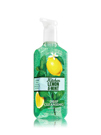 Kitchen Lemon & Mint Deep Cleansing Hand Soap - Bath And Body Works