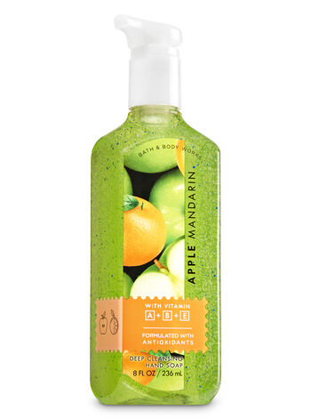 Apple Mandarin Deep Cleansing Hand Soap - Bath And Body Works