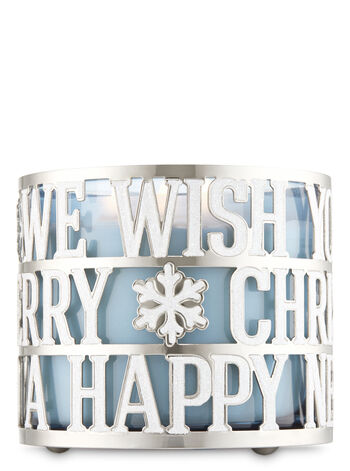 Christmas Wishes 3-Wick Candle Sleeve