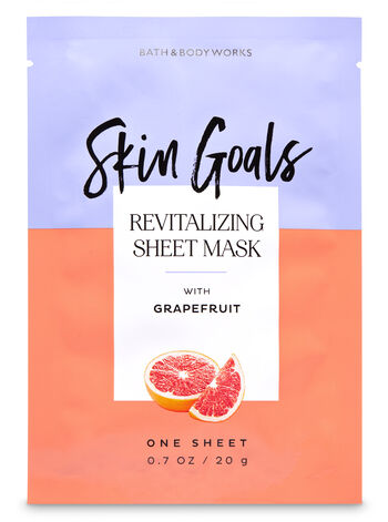 Revitalizing with Grapefruit Face Sheet Mask