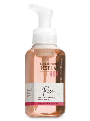 Bath & Body Works Test Lab Blend No. 004 Rose Gentle Foaming Hand Soap - Bath And Body Works