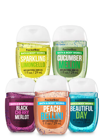Fresh Picks PocketBac Hand Sanitizers, 5-Pack - Bath And Body Works