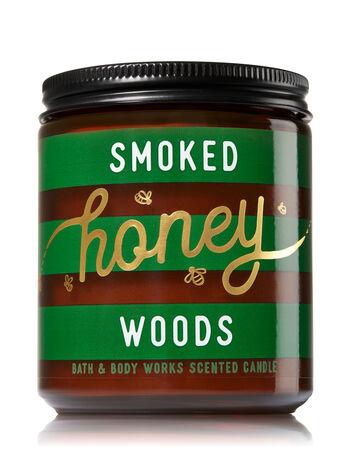 Smoked Honey Woods Medium Candle
