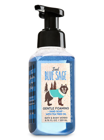 Iced Blue Sage Gentle Foaming Hand Soap - Bath And Body Works