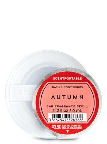 Autumn Scentportable Fragrance Refill - Bath And Body Works