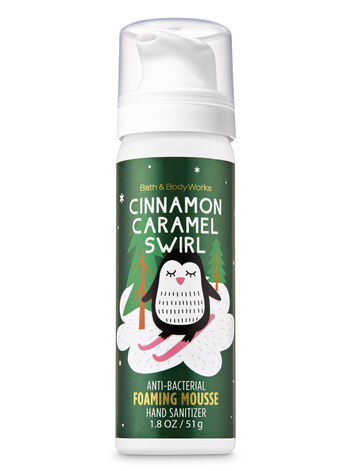 Cinnamon Caramel Swirl Foaming Hand Sanitizer - Bath And Body Works