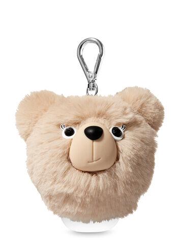 Brown Pom Bear PocketBac Holder - Bath And Body Works