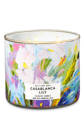 Casablanca Lily 3-Wick Candle - Bath And Body Works