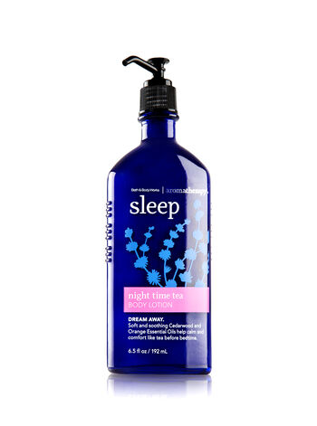 Aromatherapy Night Time Tea Body Lotion - Bath And Body Works