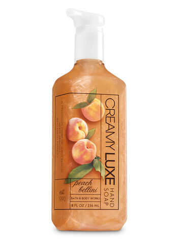 Peach Bellini Creamy Luxe Hand Soap - Bath And Body Works