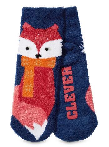 Felix the Fox Shea-Infused Lounge Socks
