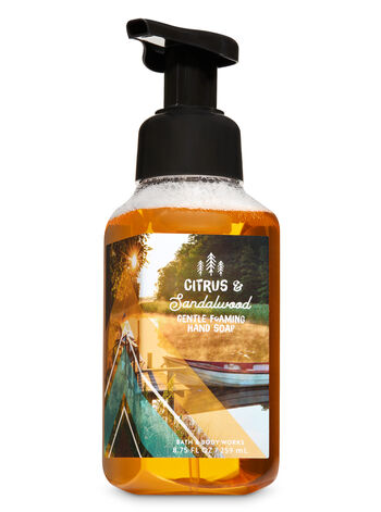 Citrus & Sandalwood Gentle Foaming Hand Soap - Bath And Body Works
