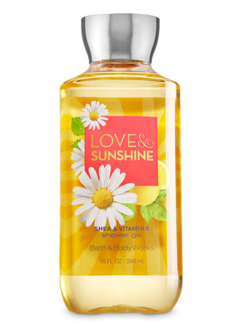 Signature Collection Love & Sunshine Shower Gel - Bath And Body Works