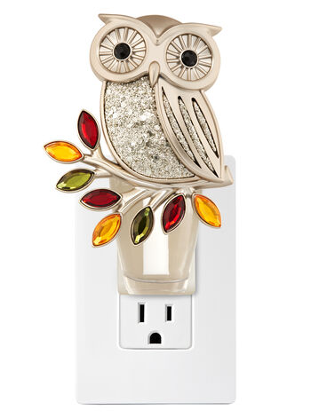 Shining Owl Nightlight Wallflowers Fragrance Plug