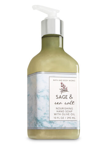 Sage & Sea Salt Hand Soap with Olive Oil - Bath And Body Works
