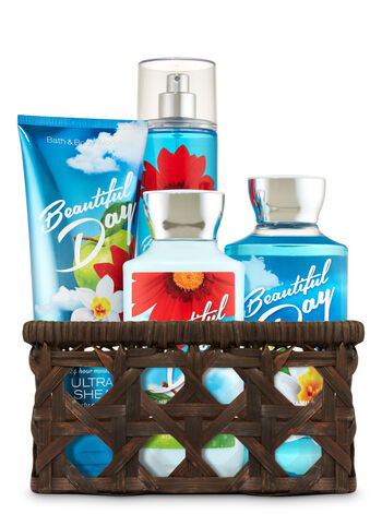 Beautiful Day Basket of Favorites Gift Kit - Bath And Body Works