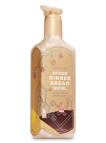 Spiced Gingerbread Swirl Creamy Luxe Hand Soap - Bath And Body Works