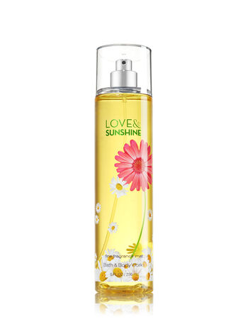 Signature Collection Love & Sunshine Fine Fragrance Mist - Bath And Body Works