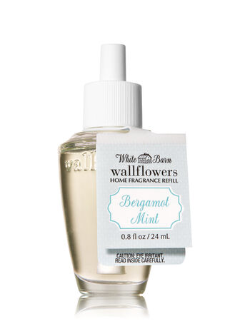 Bergamot Mint Wallflowers Fragrance Refill - Bath And Body Works