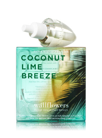 Coconut Lime Breeze Wallflowers 2-Pack Refills - Bath And Body Works