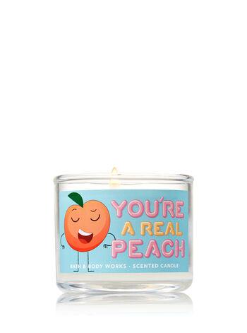 Georgia Peach Mini Candle - Bath And Body Works