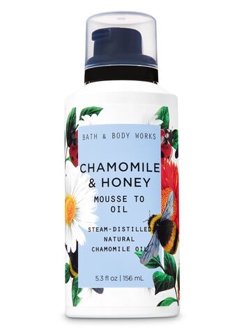 Chamomile & Honey Mousse to Oil - Bath And Body Works