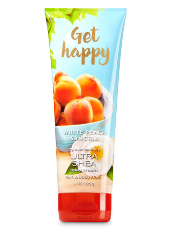 Signature Collection Get Happy - White Peach Sangria Body Cream - Bath And Body Works