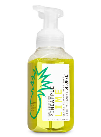 Pineapple Lime Gentle Foaming Hand Soap - Bath And Body Works