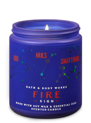 Fire Single Wick Candle - Bath And Body Works