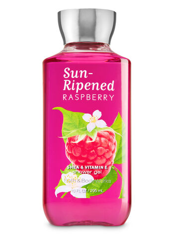 Signature Collection Sun-Ripened Raspberry Shower Gel - Bath And Body Works
