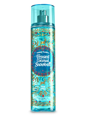 Signature Collection Frosted Coconut Snowball Fine Fragrance Mist - Bath And Body Works