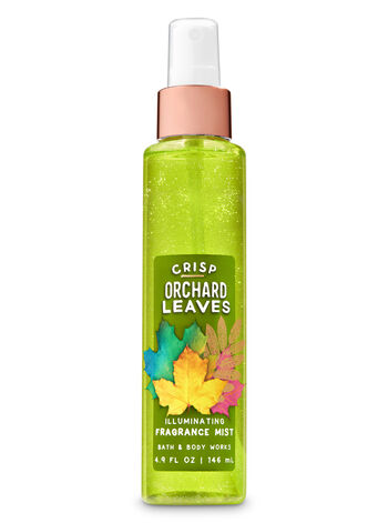 Crisp Orchard Leaves Illuminating Fragrance Mist - Bath And Body Works