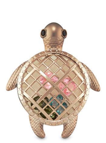 Gemstone Sea Turtle Visor Clip Scentportable Holder